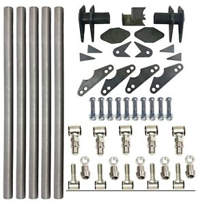 Parallel 4 Link Kit Universal Weld On Application 1 25 X 20 Bars Lh Rh Ends