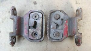 1955 1956 1957 1958 Chevy Cameo Tail Gate Cable Holders Mounts Original Gm Pair