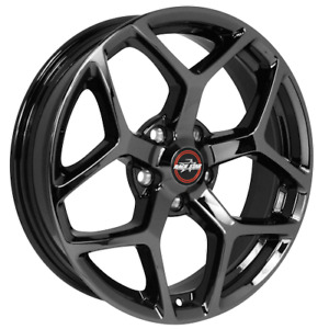 Race Star Wheels Rim 95 Recluse Black Chrome 18x8 5 5x120 18 0