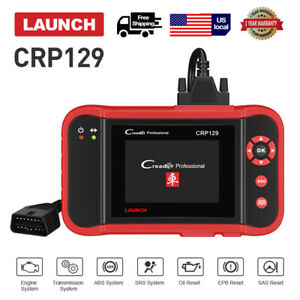 Launch Creader Crp129 Viii Obd2 Scanner Auto Diagnostic Tool Engine Abs Srs Scan