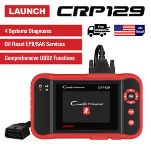Launch Creader Crp129 Cr Vii Auto Diagnostic Scanner Obd2 Scan Tool Crp123x