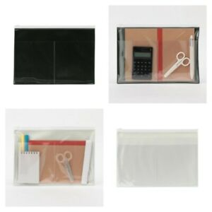 Muji One side Translucent Folder With External Pocket B5 a4 select