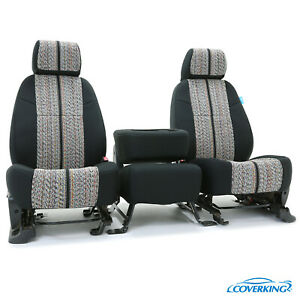 Coverking Saddle Blanket Front Rear Tailored Seat Covers For Toyota Tacoma