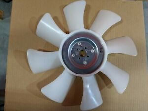 Genuine Oem Kubota Fan 17490 74110 8 Blade D1803 V2403 V2607 V3307 Engines