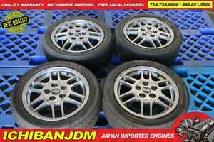 Jdm Oz Racing Mitsubishi Lancer Wheels 16x6 5 46 5x114 3 Rims Japan Imported