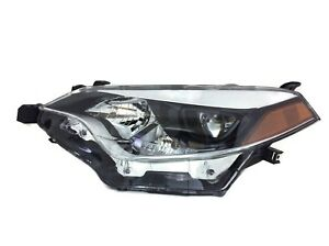 Aftermarket Led Headlight Lamp Lh Driver s Side For 2014 2016 Toyota Corolla