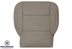 2014 2019 Chevy Silverado Lt Ls Hd Driver Side Bottom Leather Seat Cover Tan
