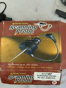 Used Carvewright Scanning Probe W Bit Adapter For Woodworking No Software