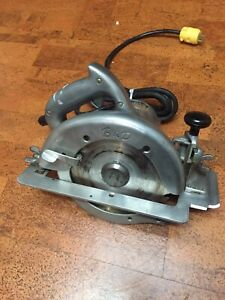 "Vintage Carpenters Saw Black & Decker 8"" Heavy Duty Circular Saw."