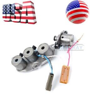 Transmission Solenoid Set For Nissan Xterra Frontier Pathfinder Re4r01a