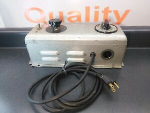 Nuarc Cp25 Lamp Power Supply 115 Volts Amps 1 0 115v 60 Ac