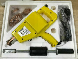 Welder Auto Body Electric Stud Welder Gun Dent Repair Kit W Slide Hammer Nails