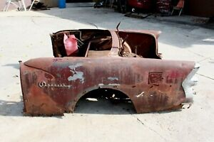 Original 1955 Buick Special Century Convertible Rear Clip Quarter Panel Section