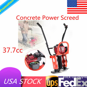 37 7cc 4 Stroke Gas Concrete Wet Screed Power Vibrating Screed Cement 5200rpm