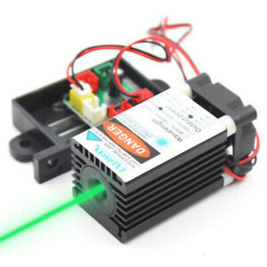 515nm 520nm 80mw 12v Green Laser Diode Module High Power Laser Beam With Fan Diy