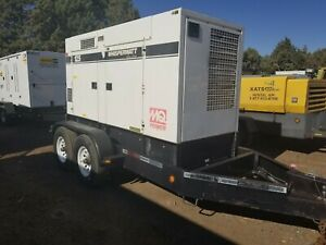 2011 Mq Power Ultra Silent Dca 125usi Mobile Generator Load Tested Serviced