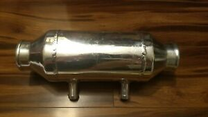 Water To Air Barrel Intercooler 4 X6 Aluminum Unused