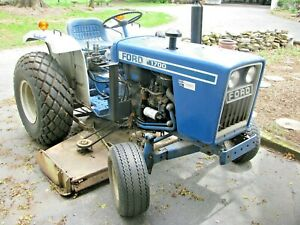 Ford 1700 Tractor 3 Point 2 Wheel Drive 1980 4985 Hours Plus Accessories