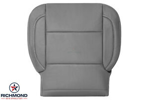 2015 2019 Chevy Tahoe Suburban Lt Ls driver Side Bottom Leather Seat Cover Gray