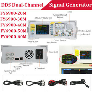 Kkmoon 20mhz 60mhz Dds Generator Digital Dual channel Signal Generator Function