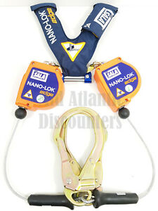 3m Dbi Sala Nano lok Edge Twin Leg Srl With Rebar Hooks Harness Fall Protection