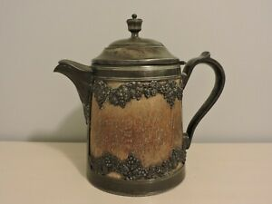 Antique St Louis Silver Co Tea Pot Quadruple Rare 1904 1912