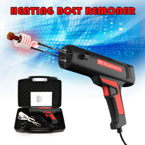 Car Magnetic Induction Heater Tool Kit Bolt Remover Flameless Heat 110v Us Plug