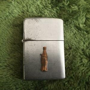 AUTH Zippo 1951 52-Year System Coca-Cola Bottle Removal Free Shipping