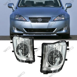 Fit For 2006 2010 Lexus Is250 Is350 Fog Lights Replace Bumper Fog Lamps