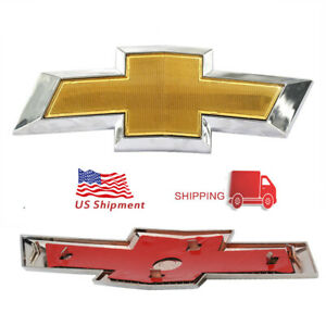 Front Chevy Logo Emblem For 11 14 Cruze Grille Badge Bumper Logo Classic Symbol
