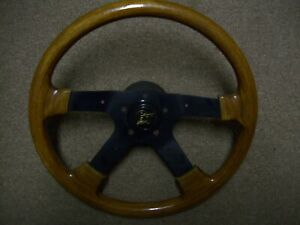 Vintage Grant Gt Steering Wheel Wooden 15 Muscle Car Chevy Ford Mopar