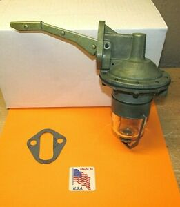 1959 1960 1961 Ford Mercury Edsel Single Action Modern Rebuilt Fuel Pump V8 Usa