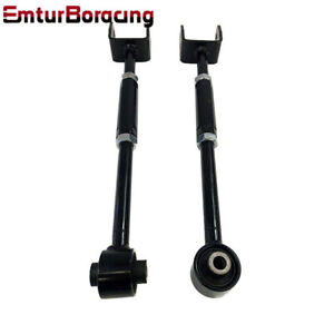 1pairs Black Fits 08 13 Accord 09 13 Acura Tl Tsx Rear Camber Arm Kit New Brand