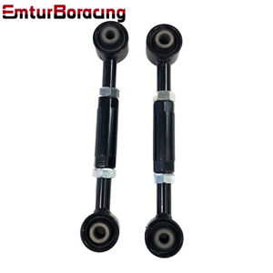 Black Fits 08 13 Accord 09 13 Acura Tl Tsx Rear Camber Arm Toe Kit Emusa