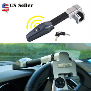 Car Auto Steering Wheel Lock Universal Security Car Anti Theft Safety Alarm Lock