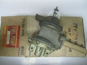 59 60 Oldsmobile W Heater W O Air Cond Vacuum Fuel Pump Remanufactured 4727