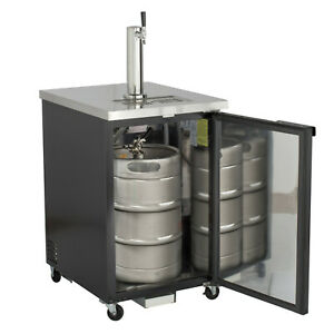 Maxx Cold Commercial 23 4 Direct Draw Beer Cooler Kegerator 1 Taps Holds 1 Kegs