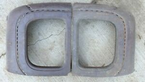 1928 1929 Model A Ford Special Coupe Quarter Windows Original Pair