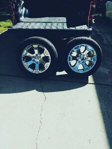 4 2019 Dodge Ram 1500 Big Horn 20 6 Lug Rims Tires Must Buy All 4