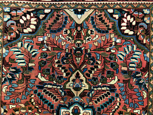 5x7 Vintage Wool Rug Hand Knotted Oriental Handmade Antique Handwoven Carpet 5x8