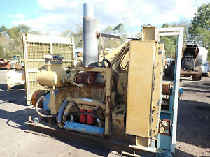 Caterpillar C18 Turbo Diesel Engine Power Unit 2 Avail 630 Hp Cat