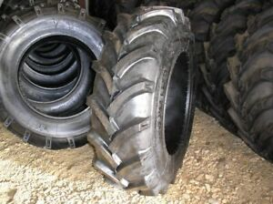 Two 14 9 28 10 Ply R1 Tractor Tires