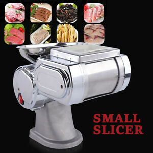 Commercial Electric Meat Slicer Cutter Cutting Machine Stainless Steel 600w