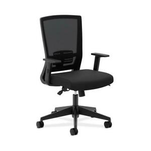 Hon Entire Mesh High back Task Chair With Adjustable Arms In Black