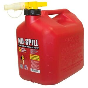 New Stens 765 104 5 Gallon Gas Fuel Can No spill 1450 Toro 127 3202 Nospillcan 5