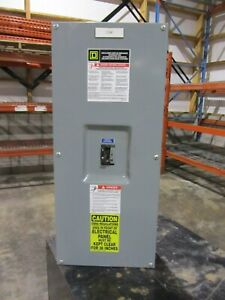 Square D Enclosed Circuit Breaker Panel box Kal36150 150 Amp Breaker New old