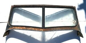 Complete Windshield Frame Off A 1948 Willys Jeepster Pickup T2