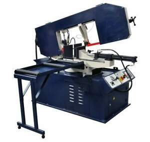 13 Inch X 18 Inch Metal Cutting Band Saw With Swivel Base Plc Bs 460g