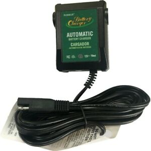 Car Battery Charger Jr 12 Volt 750ma Maintainer Motorcycle Charger 021 0123