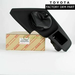 Genuine Toyota Supra 93 98 Front Shift Boot Panel Manual Trans Oem 58804 14060